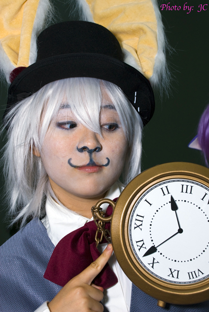 White Rabbit - Alice in Wonderland AX - Anime Expo