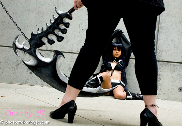 Mato Kuroi & Dead Master - Black Rock Shooter Anime Expo - AX
